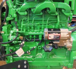 he New Deere 4045 Common-rail Diesel Engine