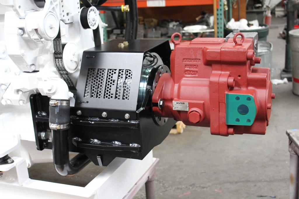 SeaDrive Front PTO - 65kW generator