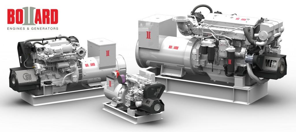 Marine Generator Group w/ SeaDrive PTO