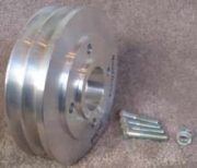4045 & 6068T 2 Groove Auxilary Pulley
