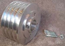 4045 & 6068T 4 Groove Auxilary Pulley