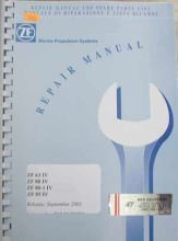 ZF Parts/Service Manual