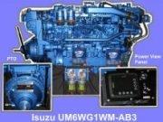 Isuzu Commercial Marine Engine 6WG1WM-AB3