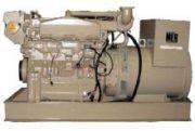John Deere MG175-TII 175KW 6081AFM Marine Generator
