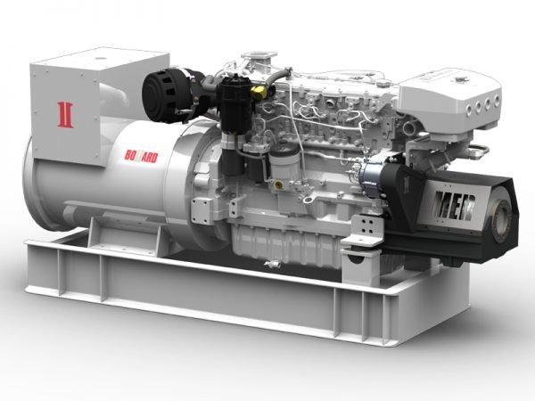 BOLLARD™ 260kW Platinum Marine Generator