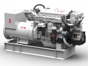 BOLLARD™ 395kW Platinum Marine Generator