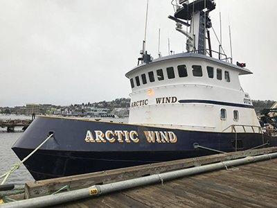 F?V Arctic Wind at the dock