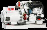 BOLLARD 22kW Heat Exchange Marine Generator