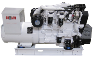 BOLLARD 65kW marine generator