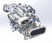 Dual Alternator Kit & Fire Pump Kit Installed