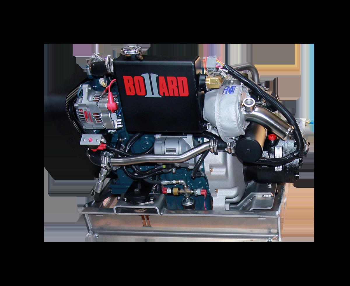 BOLLARD Hydraulic Power Unit front view