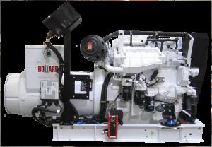 99kW BOLLARD generator built for the tug Kestrel