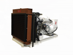 radiator cooled marine generator