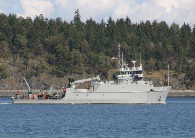 US Navy Torpedo Testing / Handling Ship
